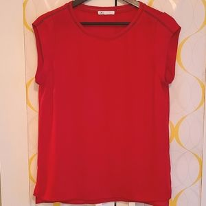 DR2 Blouse (sz M, red)